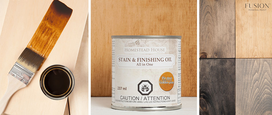 Homestead Stain and Finishing Oil All-in-one